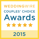 WeddingWire Couple's Choice 2015