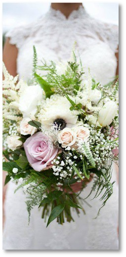 Simple Wedding Flowers | New Hampshire Wedding Flowers Tilton Franklin Florist Delivery